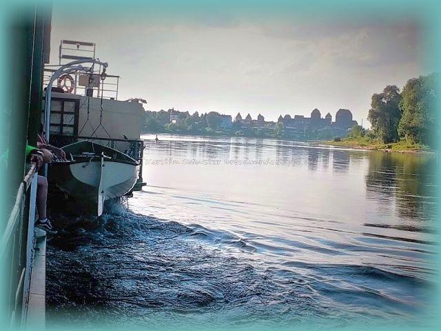 nostalgischer Schaufelraddampfer Dresden