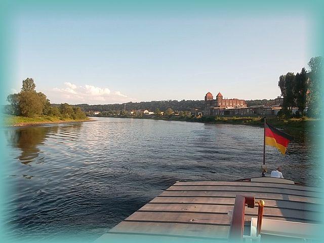 Dampferfahrt Dresden Pirna Rathen