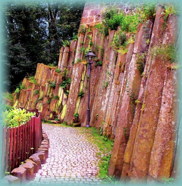 Basalt Burgstadt Sächsische Schweiz