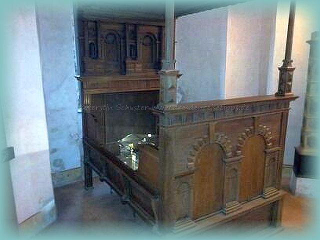 Ausstellung Schloss und Burg Stolpen