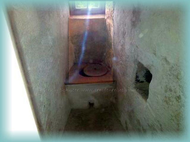 Gräfin Cosel Toilette im Turmverlies
