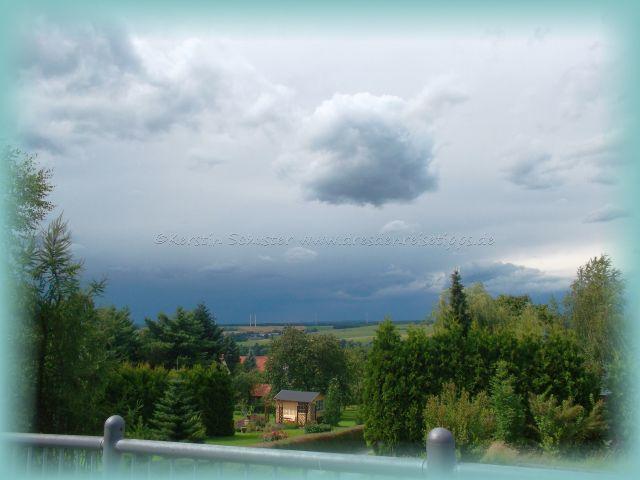 Gewitter zieht auf