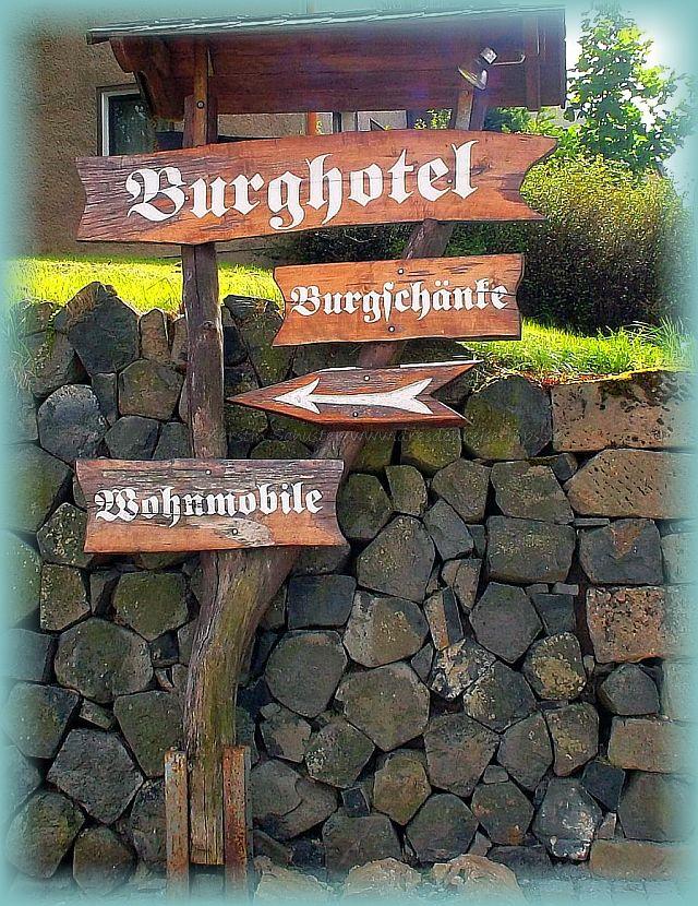 Wegweiser Burgstadt Stolpen