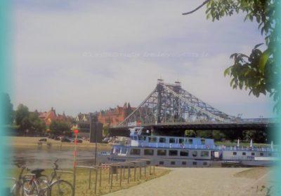 Brückenschlagfest Blaues Wunder