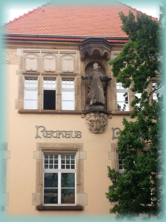 Gustel von Blasewitz Engelke Bildhauer Figuren