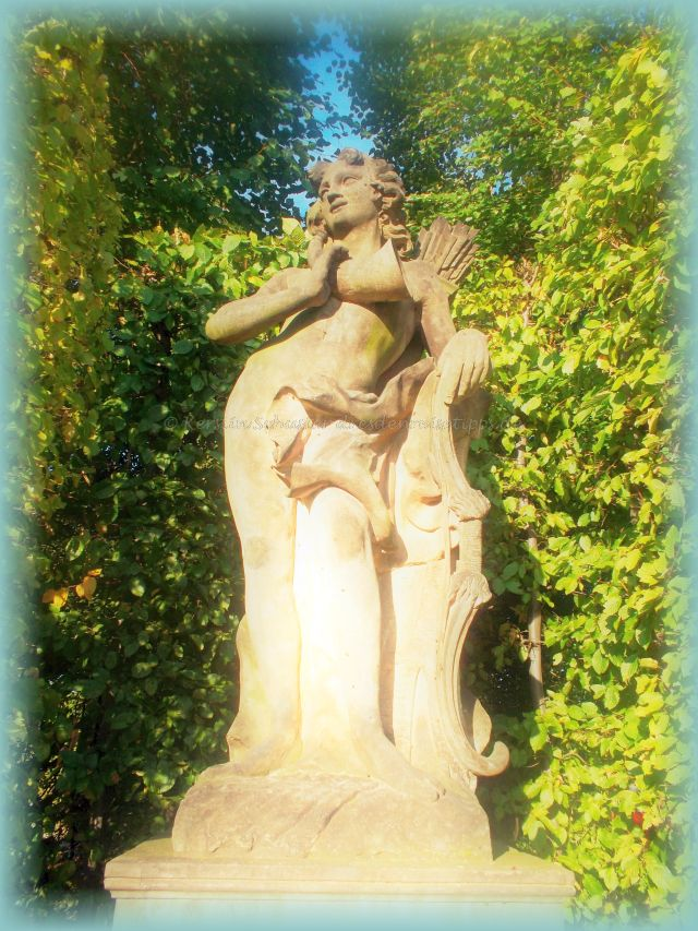 Ausflugsziel Barockgarten Großsedlitz mit Skulpturen
