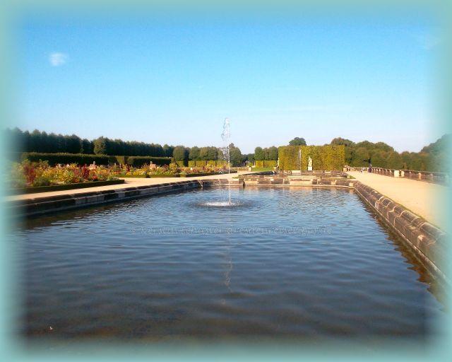 Ausflugsziel Barockgarten Großsedlitz mit Wasserspielen