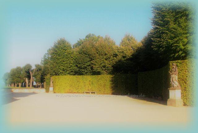 barocker Schlossgarten bei Dresden