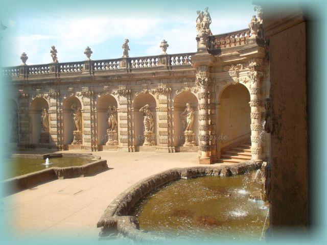 Brunnensaison Dresden eröffnet
