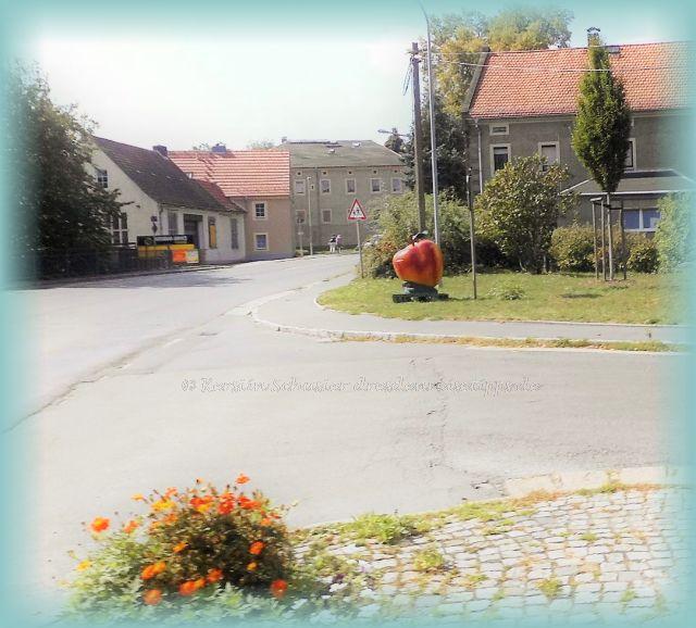 Dorfkern Dresden Weißig im Schönfelder Hochland
