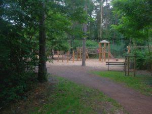 Kletterwald Spielplatz Kleinzschachwitz im Dresdner Osten