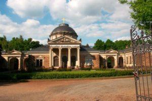 Kronentor Friedhof Dresden