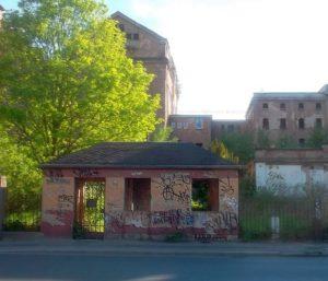 Ruine Malzfabrik Dresden