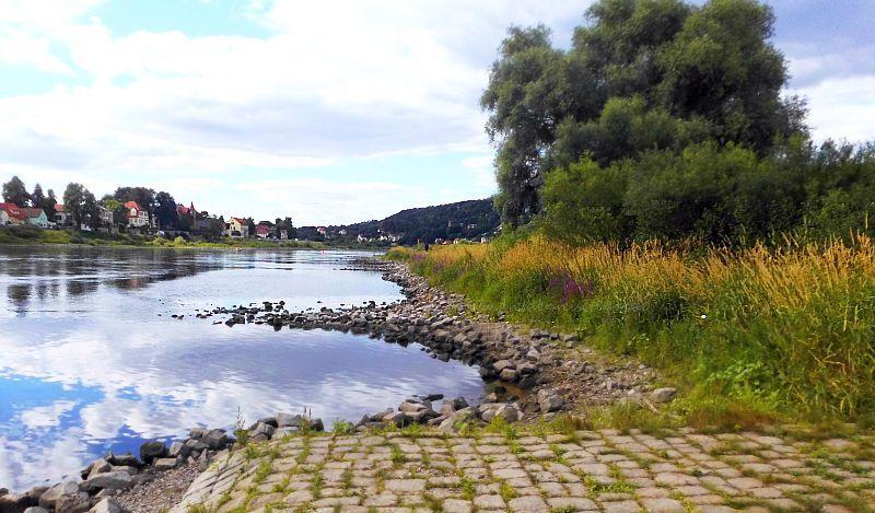 Elbe-Baden in Dresden