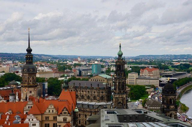 barrierefreie Aussichten über Dresden genießen