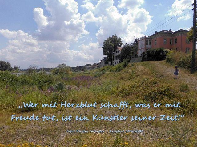 Kunst an der Elbe Laubegast