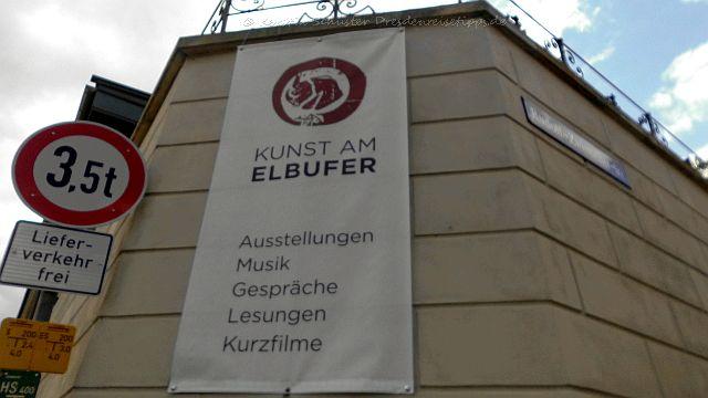 Kunst am Elbufer Dresden