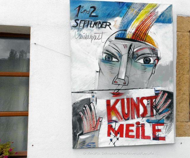 Laubegaster Kunstmeile Plakat