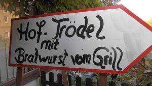 Weißiger Hochlandfest mit Hof-Trödel und Grillwurst