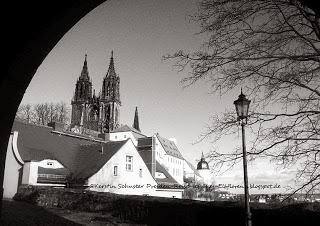 Albrechtsburg und Dom Meißen in Sachsen