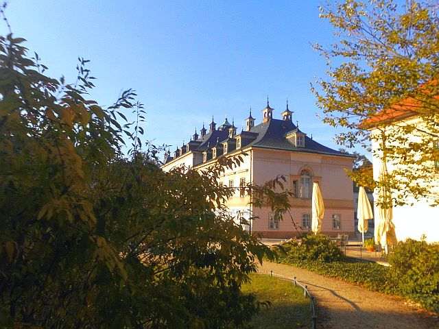Barockschloss und Schlosspark Pillnitz Sehenswürdigkeiten Dresden