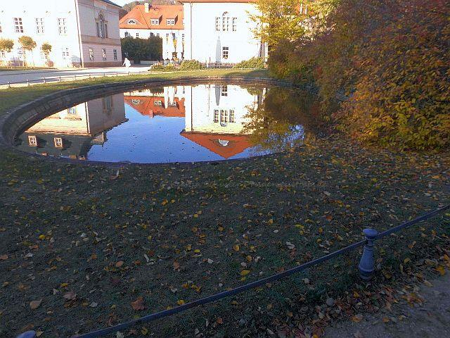 Wasserspiele im Barockschloss und Schlosspark Pillnitz