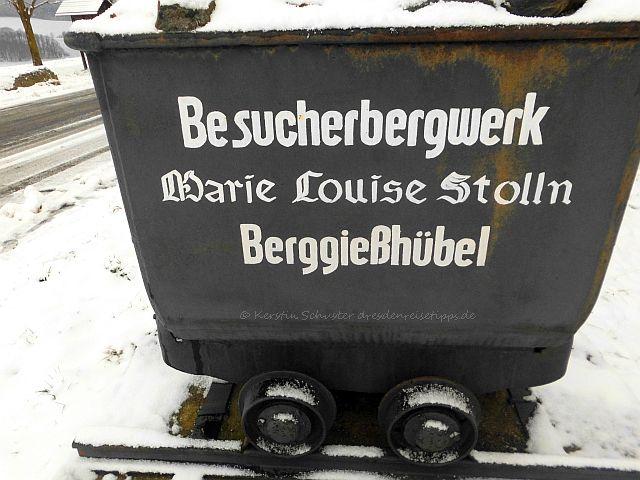 Ausflugstipp Berggießhübel Besucherbergwerk Marie Louise Stolln