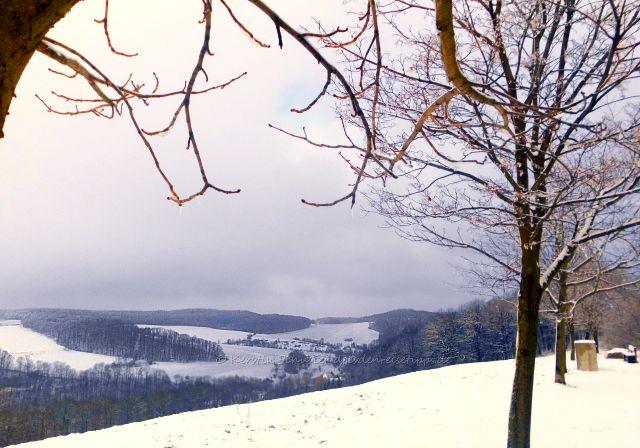 märchenhafte Winterlandschaft Gottleubatal