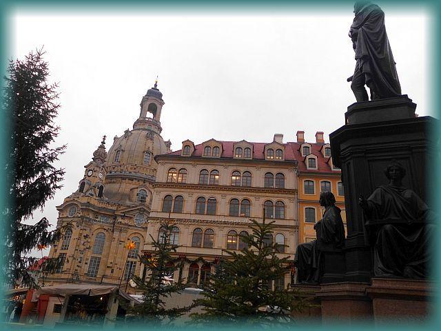 Dresden Reisetipps Advent auf dem Neumarkt Dresden
