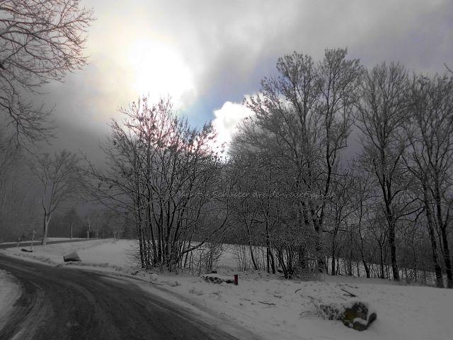 Winter im Kurort Bad Gottleuba