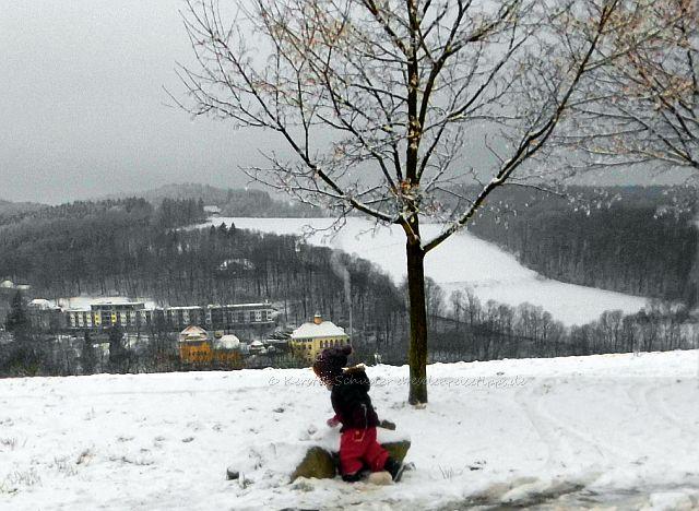 Dresden Reisetipp Ausflug mit Kindern im Winter