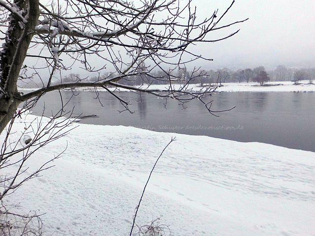Dresden Laubegast im Winter
