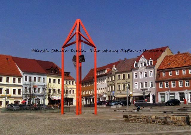 Historischer Marktplatz Sachsen Schiebock