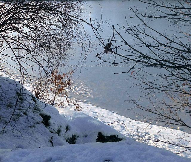 zauberhafte Winterlandschaft Dresden Laubegast