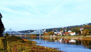 Das Blaue Wunder Dresden Loschwitz