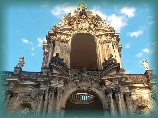 historische Hochzeit Zwinger Dresden