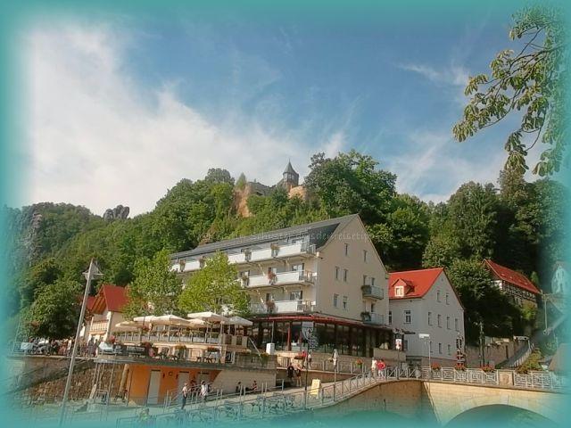 Elbschlösschen Restaurant Hotel Kurort Rathen