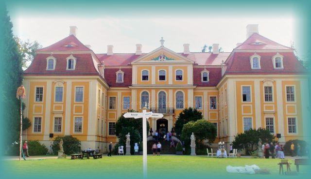 Leinentage Rammenau Schlossevent