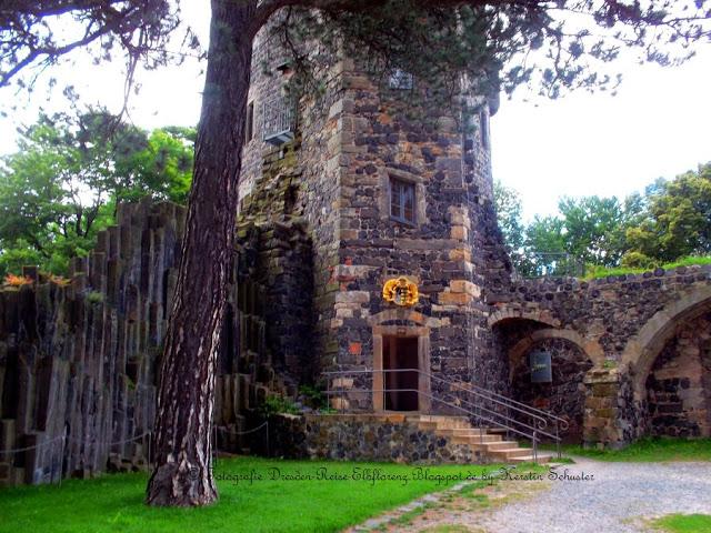 Basaltsteine Burg Stolpen