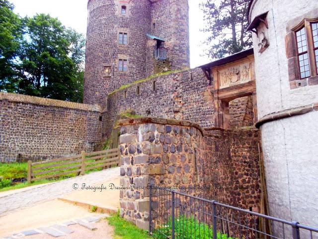Burgbesichtigung währe des Auflugs von Dresden nach Stolpen