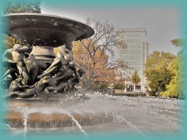 Wasserspiele Brunnen Dresden Neustadt