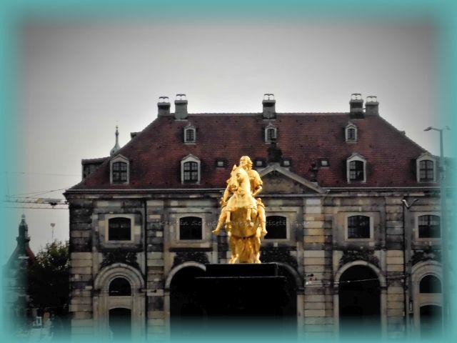Goldener Reiter Hauptstraße Innere Neustadt Dresden