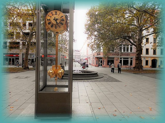Kunstobjekte Hauptstraße in Dresden Neustadt