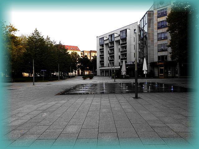 Wasserspiele Hauptstraße Dresden Neustadt
