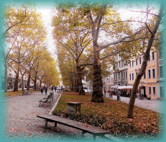 Skulpturen Hauptstraße Dresden Neustadt verschwunden