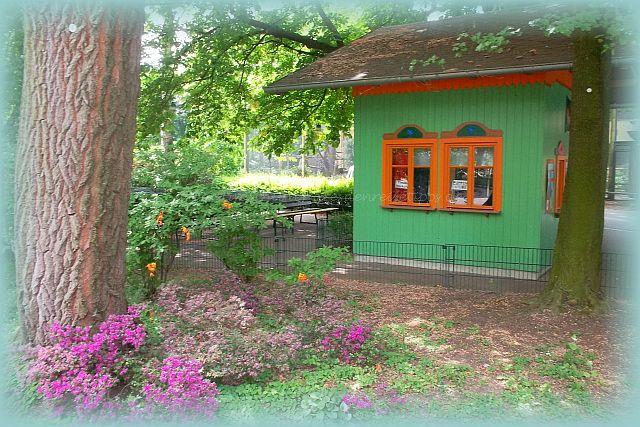Kaspertheater im zoologischen Garten Dresden