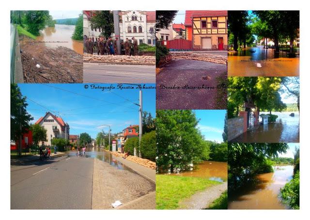 Hochwasser in Laubegast Juni 2013