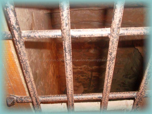 Kerker im alten Gefängnis Rammenau