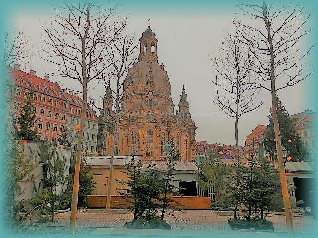 Advent vor der Frauenkirche