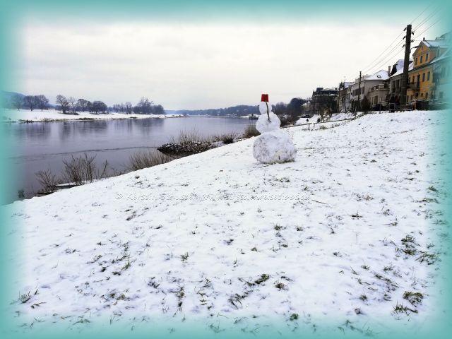 Winterlandschaft Dresden